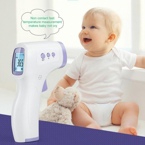 2020 Infrared Thermometer Forehead Body Non-Contact Thermometer Baby Adults Outdoor Home Digital Infrared Fever Ear Thermometer